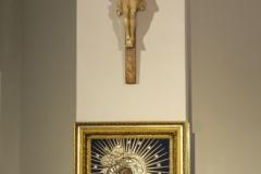 Matka Boża Ostrobramska i Krzyż